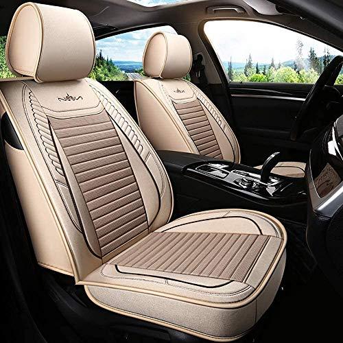 YSHUAI Protector de asiento de coche Auto Accesorios Interior Coche Cubierta de asiento Set para Vol