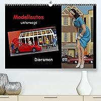 Modellautos unterwegs - Dioramen (Premium, hochwertiger DIN A2 Wandkalender 2022, Kunstdruck in Hochglanz): Kleine Modellautos werden in kuenstlerisch gestalteten Dioramen praesentiert. (Monatskalender, 14 Seiten )