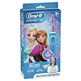 Oral-B Kids Electric Toothbrush with Brush Head, Featuring Disney's Frozen II, for Kids 3+