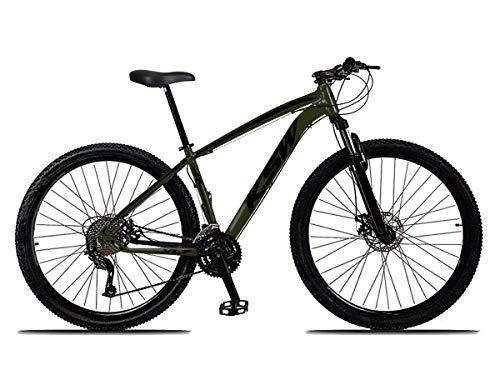 Bicicleta Aro 29 KSW XLT 21v Shimano Tourney Verde Pérola com Preto 19
