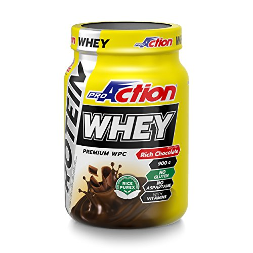 Proaction Protein Whey (Rich Chocolate) - Barattolo da 900 G