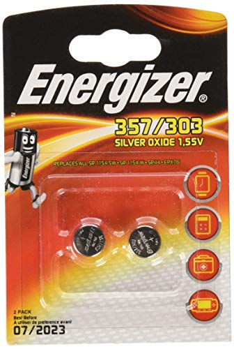 Energizer Silberoxid Batterie EPX76 2er Pack