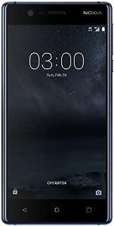 Nokia 3 Akıllı Telefon, 16 GB, Lacivert (Nokia Türkiye Garantili)