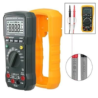 Digital Multimeter Voltmeter Ammeter Capacitance Tester