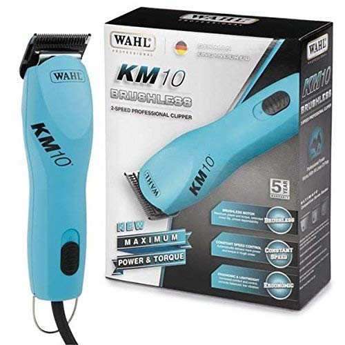 WAHL KM10 2 Speed Brushless Motor Professional Animal Clipper with a Bonus 4 oz....