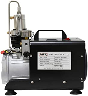 HPDAVV 110V Paintball Compressor 4500psi,Scuba Tank Filling,US After-Sales Service,Accessories Package,Operational Video