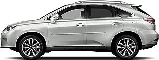 Dawn Enterprises CF-RX Chromeline Body Side Molding Compatible with Lexus RX, Atomic Silver (1J7)