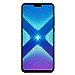 "Huawei Honor 8X (64GB + 4GB RAM) 6.5"" HD 4G LTE GSM Factory Unlocked Smartphone - International Version No Warranty JSN-L23 (Black) (Renewed)"
