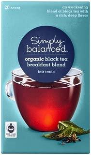 Simply Balanced Organic Breakfast Blend Black Tea 20ct