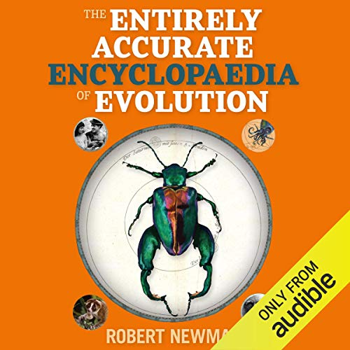 Rob Newman's Entirely Accurate Encyclopaedia of Evolution cover art