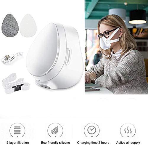 LABYSJ Protector De Cara Eléctrico De Carga USB/Aislamiento De Protec