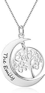 Árbol de la vida Colgante Collar Día de las Madres Mamá Cumpleaños árbol familiar 348