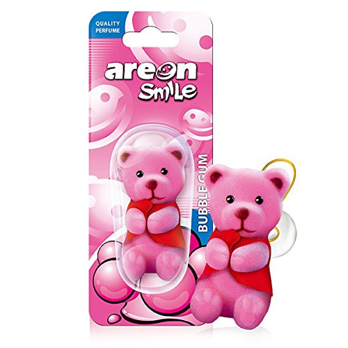 AREON Smile Ambientador Coche Chicle Bubble Gum Rosa