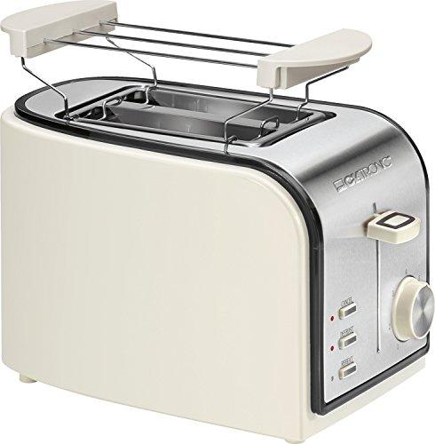 Clatronic TA 3557 Toaster, creme