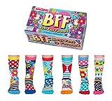BFF (Best Foot Forward) - United Oddsocks - 6 Oddsocks for Kids UK 12-5½ EUR 30½-38½