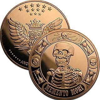 1 oz .999 Pure Copper Round/Challenge Coin (The Last Laugh ~ Memento Mori)