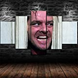 NVSHENY-LOVED Wall decorThe Shining Here's Johnny Poster 5