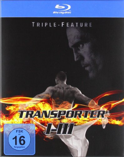 Transporter 1-3 - Triple-Feature [Blu-ray]
