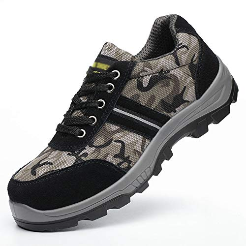Sin marca Zapatos para Exteriores Gorra De Seguridad con Puntera De Acero...