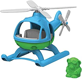 Green Toys HELB-1060 Helicopter, Blue/Green, 9.63 Inch x 6.13 Inch