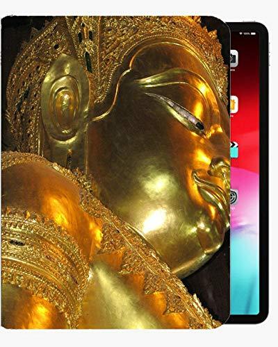 para la Cubierta de la Caja de 9,7 Pulgadas de iPad Air1, Vintage Gold-Buddha Case Slim Shell Funda para iPad iPad Air1