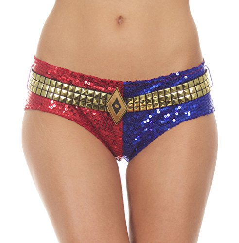 Suicide Squad Harley Quinn DELUXE Sequins Panty (X-Large)