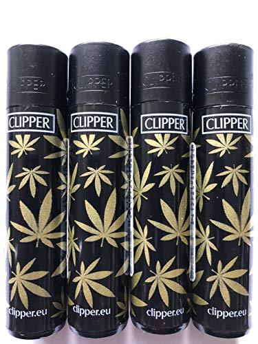 4 x de madreperla y crin de Rasta hojas para hierbas Clipper Mechero, mechero, diseño de 2013, Rasta,