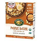 Contains: 6 boxes of Nature's Path Peanut Butter Granola, 11.5 ounces in each box Creamy, Crunchy Delight: Nature's Path Peanut Butter Granola fuels your body with wholesome, organic ingredients and treating your taste buds to a peanut butter delight...