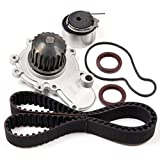 ANGLEWIDE TCKWP245B TBK245 WP120-1300 Timing Belt Water Pump Kits Replacement for 2000 Cirrus 1995-2005 Dodge Neon 1995-2000 Dodge Stratus 1996-2000 Plymouth Breeze