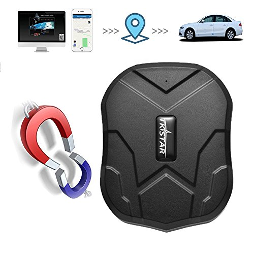 TKSTAR TK905 - Rastreador GPS con Dispositivo 3G de Seguimiento en Tiempo Real antirrobo, localizador GPS Largo en Espera, Potente imán para Coche, GPS para niños, Coche, Furgoneta