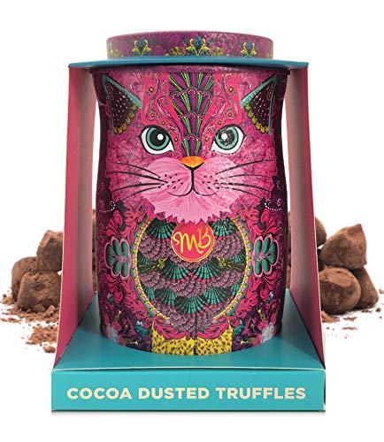 Monty Bojangles kakaobestäubte Schokoladenpralinen- Persian Pink Katzen-Geschenkdose 135g