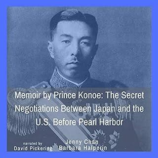 Memoir by Prince Konoe cover art