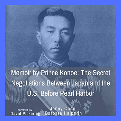 Memoir by Prince Konoe audiobook cover art