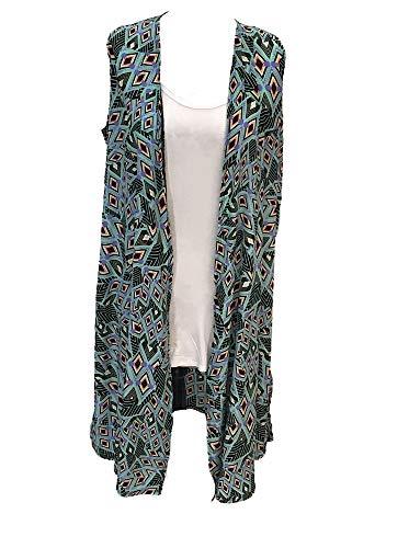 Lularoe Womans Joy Vest Medium Mint
