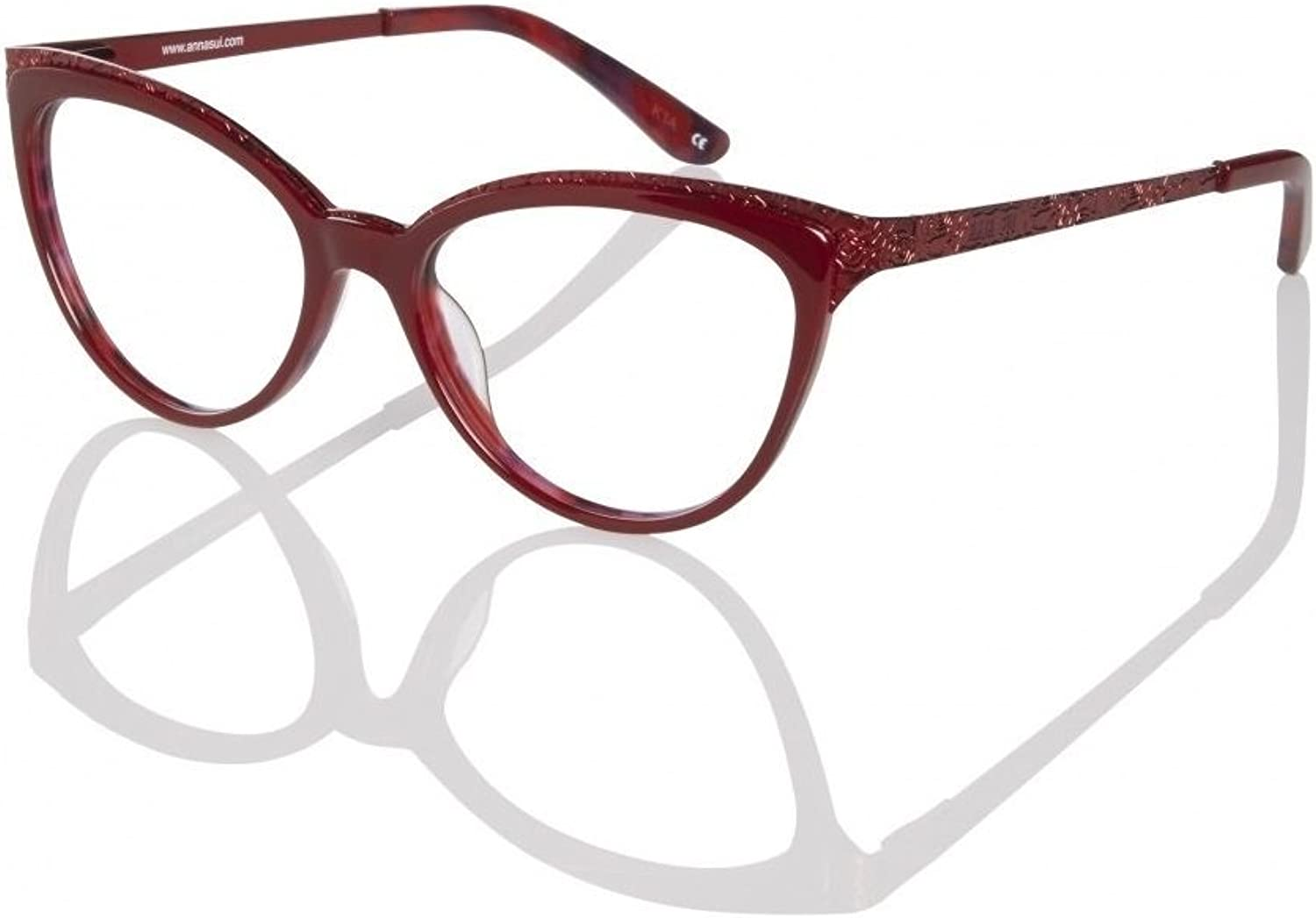 Anna Sui Eyeglasses AS5036 202 Red 5216  Women's