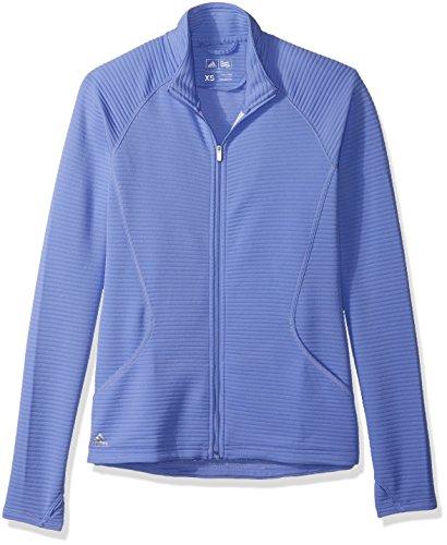 adidas Golf Essential - Chaqueta con textura para mujer