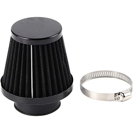 Motorcycle Clamp On Air Intake Filter Universal 38mm Car Cold Air Intake Scooter Atv Dirt Pit Bike Motorcycle Air Filter Auto