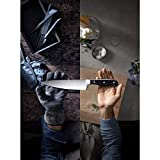 WMF Spitzenklasse Plus Asia Messerblock mit Messerset 6-teilig, 3 Messer geschmiedet, 1 Schere, 1 Wetzstahl, 1 Block aus Buchenholz, Performance Cut - 2