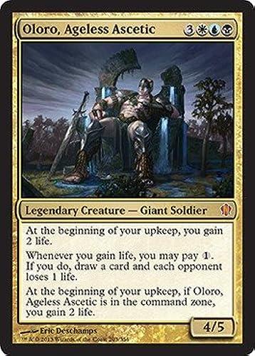 100% garantía genuina de contador Magic  the Gathering - Oloro, Ageless Ascetic - Commander Commander Commander 2013 by Magic  the Gathering  buen precio