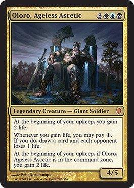 Magic The Gathering - Oloro, Ageless Ascetic - Commander 2013