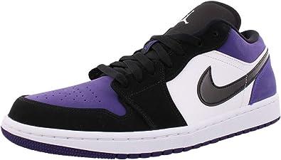 Air Jordan 1 Low Court Purple 553558-125