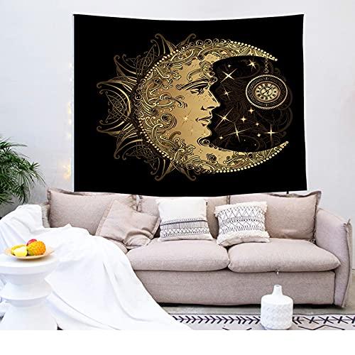 NTtie Colgante de Pared, decoración de Pared artísticamente Impresa para Sala de Estar y Dormitorio, Tapiz Tapiz Tela de Fondo