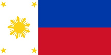magFlags Large Flag Philippine Flag with 4 Stars and 9 Rays | Render of The Proposed Philippine Flag as reported at Global Inquirer Nation by Emmanuel L | Landscape Flag | 1.35m² | 14.5sqft |