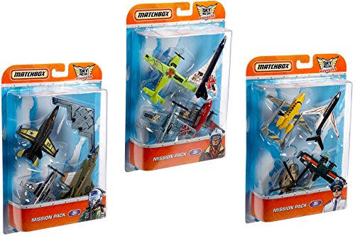Matchbox Sky Busters Die-cast Planes 4-Pack