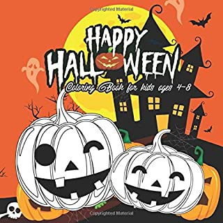 Halloween Coloring Books for kids ages 4-8: lol coloring books for kids ages 4-8 pumpkins design (halloween coloring pages for kids)