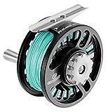 Cheeky Fishing PreLoad 375 Fly Reel, Black/Gunmetal, 7-8 wt