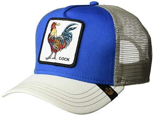 Goorin Bros. Gorra de béisbol Unisex para Adultos. Azul y Blanco. Talla única