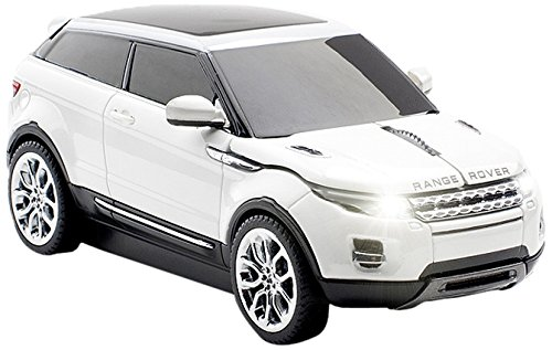 Click Car CCM-RANGEROVER-WHITE Range Rover Evoque Wireless Optical Mouse, White