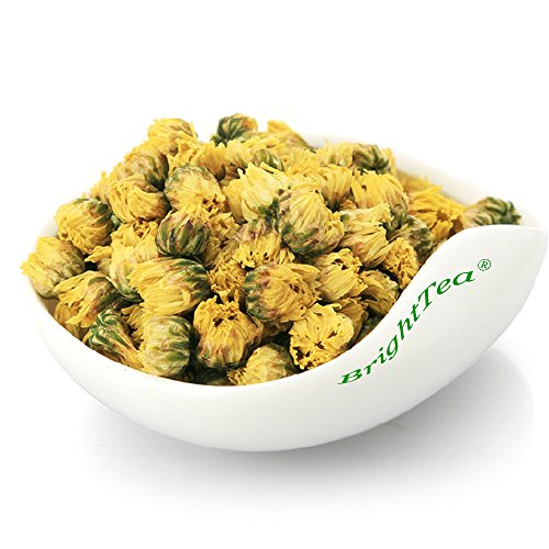 BrightTea Natural Chrysanthemum Flower Tea Herbal Tea Beautiful and Aromatic 2oz