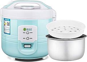 Rijstkoker-stomer, (2-6L) Huishoudelijke rijstkoker met antiaanbaklaag, koken met één toets en automatische warmtebehoud, ...